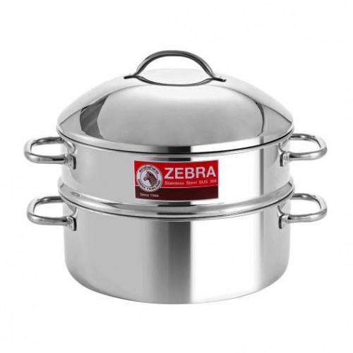 Bộ Xửng Hấp Zebra Inox Chef Plus 264383 (28cm) Thái Lan