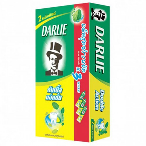 Kem đánh răng Darlie Toothpaste Double Action 160g x 3