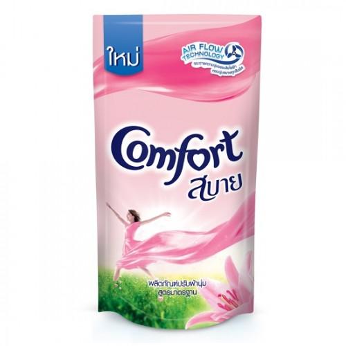 Nước Xả Làm Mềm Vải Comfort Hồng 580ml Thái Lan