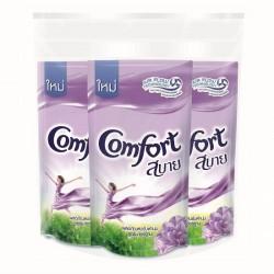 Combo 3 Nước Xả Vải Comfort Sabai Purple 580ml Thái Lan
