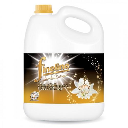 Nước Giặt Xả Fineline Vàng 3000ml Thái Lan [Hương Nước Hoa]