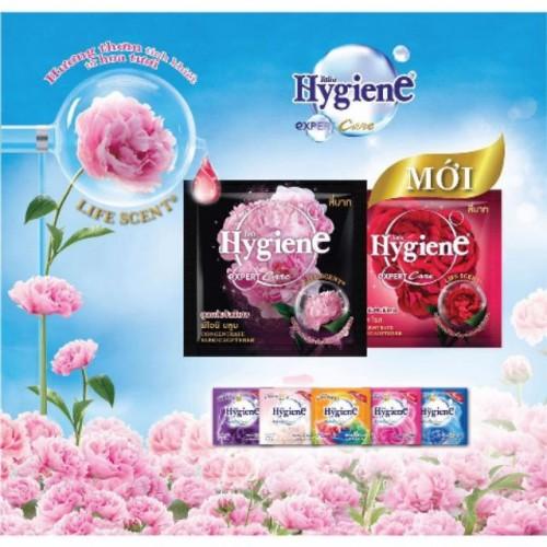 Dây Nước Xả Vải Đậm Đặc Hygiene 20ml 12 gói Thái Lan