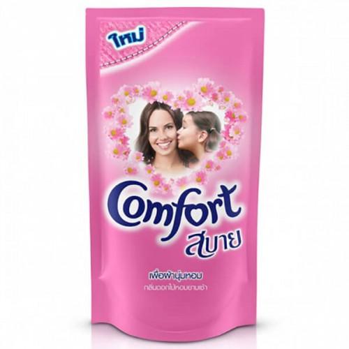 Nước xả làm mềm vải Comfort Pink 580 ml