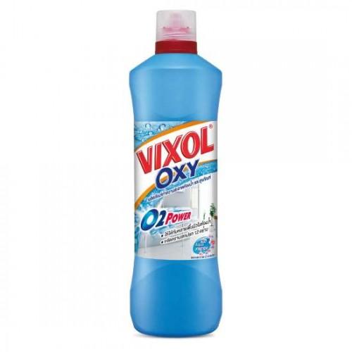 Nước Tẩy Rửa Nhà Tắm Và Bồn Cầu Vixol Oxy 700ml Thái Lan [Xanh]