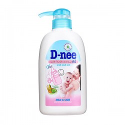 Nước rửa bình sữa và rau quả Dnee dạng bình 500ml