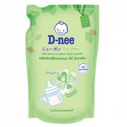[Organic] Nước Rửa Bình Sữa Và Rau Quả D-nee Organic 600ml Thái Lan