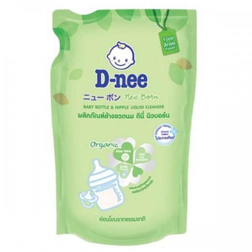 Nước Rửa Bình Sữa Và Rau Quả D-nee Organic 600ml Thái Lan