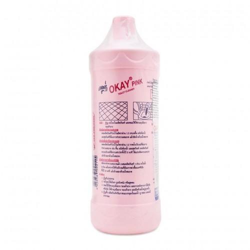 Nước tẩy Toilet Okay Pink dạng chai 960ml