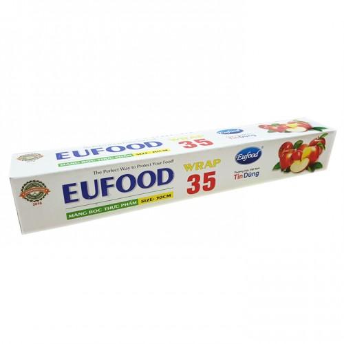 Màng bọc thực phẩm Eufood Wrap 30cm x 35m thái lan