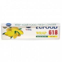Màng bọc thực phẩm Eufood Wrap 45cm x ĐT618