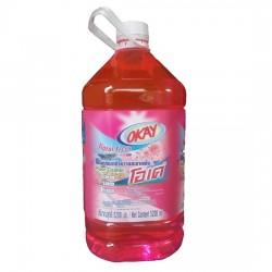 Nước Lau Sàn OKAY Floor Cleaner 5200ml Hương Hoa Thái Lan