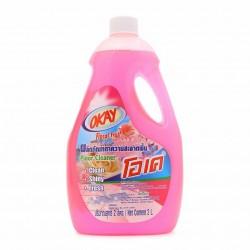 Nước Lau Sàn OKAY Floor Cleaner 2000ml Hương Hoa Thái Lan