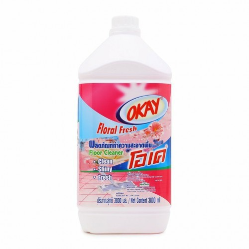 Nước Lau Sàn OKAY Floor Cleaner 3800ml Hương Hoa Thái Lan