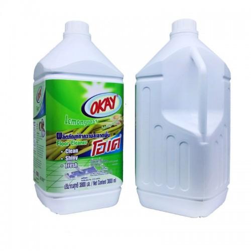 Nước Lau Sàn OKAY Floor Cleaner 3800ml Hương Sả