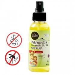 Tinh Dầu Xịt Muỗi Và Côn Trùng Phutawan Citronella Fitz Fitz Thái Lan