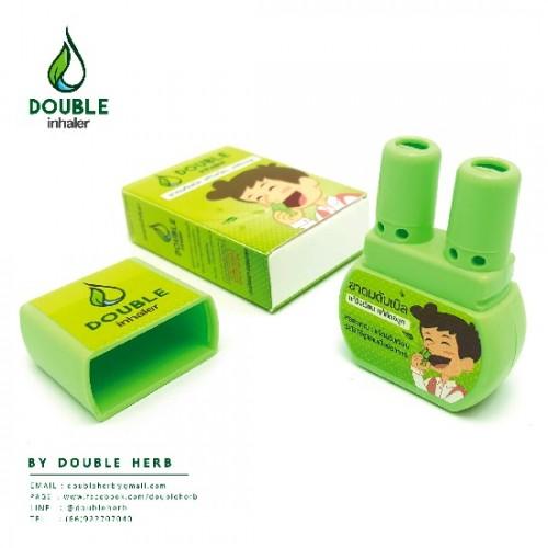 Ống Hít Đôi Thông Mũi Double Inhaler Thái Lan [Màu Ngẫu Nhiên]