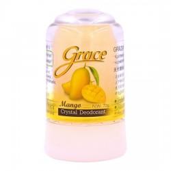 Lăn Khử Mùi Đá Khoáng Grace Hương Xoài 70g Thái Lan