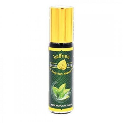 Dầu Lăn Thảo Dược Lá Bồ Đề Massage Oil 8cc Thái Lan