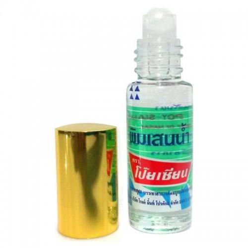 Dầu Lăn Thảo Dược Pim-Saen Balm Oil Poy-Sian 5ml Thái Lan