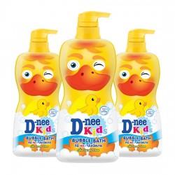 Combo 3 Sữa Tắm Vịt Cho Trẻ Em D-nee Kids Bubble Bath 400ml Thái Lan