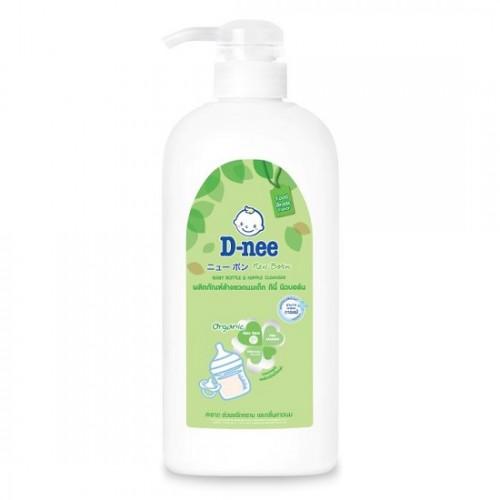 [Organic] Nước Rửa Bình Sữa Trẻ Em D-nee Organic Aloe Vera 620ml Thái Lan