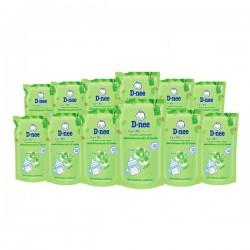 [Organic] Combo 12 Bịch Nước Rửa Bình Sữa D-nee Organic 600ml Thái Lan