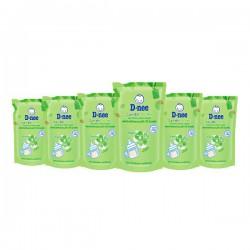 [Organic] Combo 6 Bịch Nước Rửa Bình Sữa D-nee Organic 600ml Thái Lan