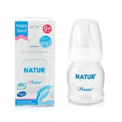 Bình sữa Natur Uhappy 2oz 60ml - BPA free