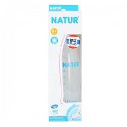Bình sữa Natur Uhappy 8oz 240ml Cổ Nhỏ - BPA free