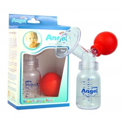 Dụng cú hút sữa và bình Angel Stony 16002