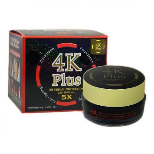 Kem Nền Chống Nắng Dưỡng Da Mặt 4K Plus 5X BB Cream Thái Lan Chính Hãng