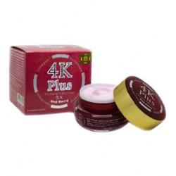Kem Dưỡng Trắng Da Giảm Mụn Ban Đêm 4K Plus 5X Goji Berry Thái Lan [Màu Đỏ]