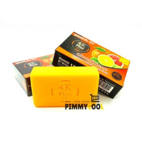 Xà Phòng 4K Plus 5X Vitamin C 100g Thái Lan
