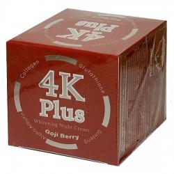 Kem Dưỡng Trắng Da Giảm Mụn Ban Đêm 4K Plus Goji Berry Thái Lan [Màu Đỏ]