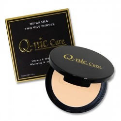 Phấn Phủ Chống Thấm Q-nic Care Micro Silk Two Way Powder Thái Lan