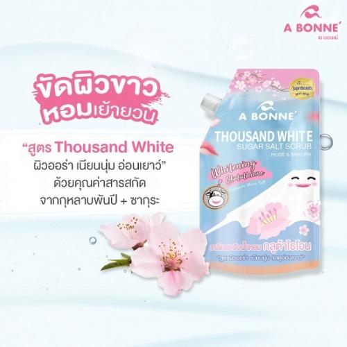 Muối Tắm Trắng Da A Bonne Hoa Anh Đào 350g Thái Lan