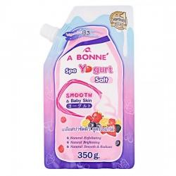 Muối Tắm Sữa Chua A Bonné Spa Yogurt Salt 350g Thái Lan