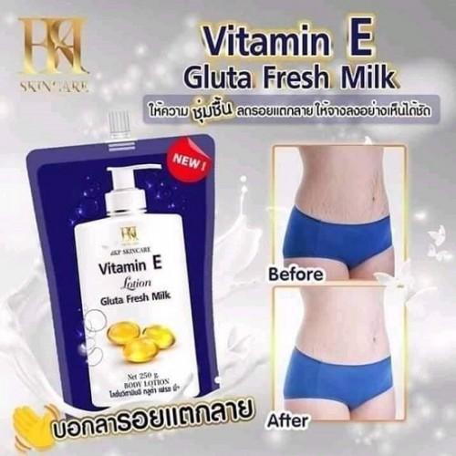 Kem Dưỡng Trắng Da Toàn Thân Vitamin E 250g Thái Lan