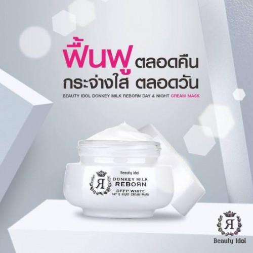 Combo Dưỡng Da Mặt Hoàn Hảo Beauty Idol Donkey Milk Reborn Thái Lan