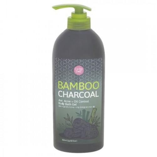 Sữa tắm than tre Cathy Doll Bamboo Charcoal Anti Acne + Oil Control Body Bath Gel 500ml