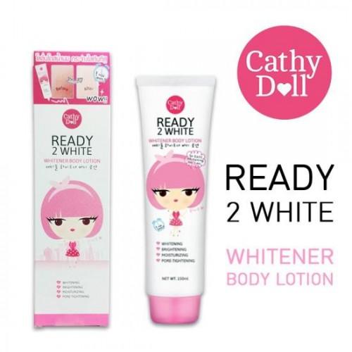 Lotion Dưỡng Thể Trắng Da Cathy Doll Ready 2 White 150ml Thái Lan