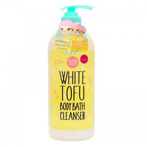 Sữa Tắm Đậu Phụ Cathy Doll White Tofu Body Bath Cleanser 750ml Thái Lan