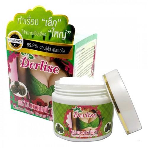 Kem Massage Nở Ngực Derlise Super Breast Up Cream Xương Rồng 50g Thái Lan