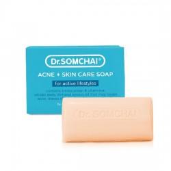 Xà Bông Tắm Cho Da Mụn Dr.Somchai Acne Skin Care Soap 80g Thái Lan