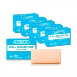Xà Phòng Rửa Mặt Cho Da Mụn Dr.Somchai Acne Skin Care Soap 80g Thái Lan