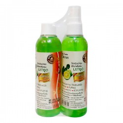 [Mua 1 Tặng 1] Tinh Dầu Cam Bergamot Kích Mọc Tóc Genive Hair Tonic 120ml Thái Lan