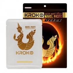 Miếng Dán Đốt Cháy Mỡ Bụng Kroko Navel Paste Detox Thái Lan [5 miếng]