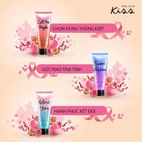 Mix 3 Tuýp Sữa Dưỡng Trắng Da Toàn Thân Malissa Kiss 226g Thái Lan