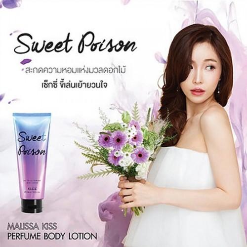 Sữa Dưỡng Trắng Da Toàn Thân Malissa Kiss Sweet Poison 226ml Thái Lan