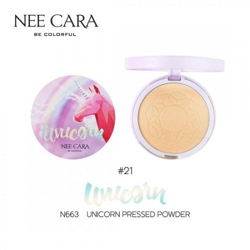 Phấn Phủ Nee Cara Unicorn Pressed Powder N663 Thái Lan